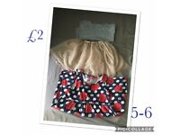 Girls clothes bundle 4-5 to 6-7