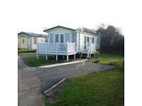 Luxury 2 bed 6 berth static caravan for rent Haven, Littlesea, Weymouth 2018 dates also available