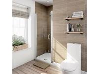 Quality Victoria Plumb frameless shower door 760 BNIB