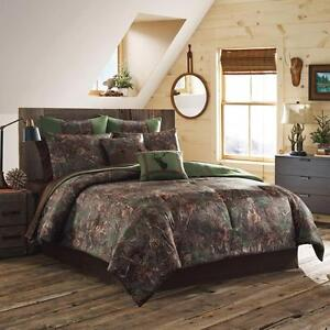 True Timber Mixed Pine 4 Piece Comforter Set FULL/DOUBLE NEW