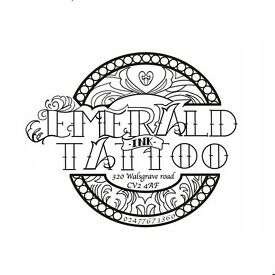 Tattoo artist vacancy at a studio based in Coventry, West Midlands.