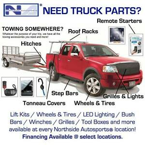 Tonneau Covers & Bed Accessories Available