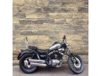 custom yamaha xv535 virago cruiser/chopper