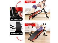 Brand new 6-in-1 Multifunction Ab Exercisers Bench Fitness Foldable Bench Waist Machine