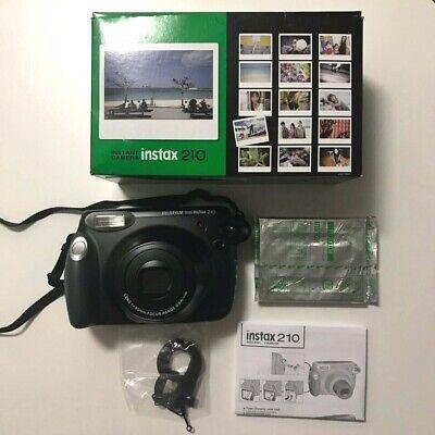 Fujifilm Instax Wide 210 Instant Polaroid Film Camera Original Box Set With Film for sale  Shipping to Canada