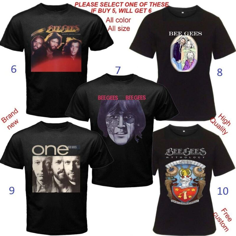 The Bee Gees Beegees Album Concert Tour T-shirt Adult S-5XL Kids Baby