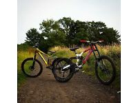 Kona Stabdeluxe 2007 Downhill Bike