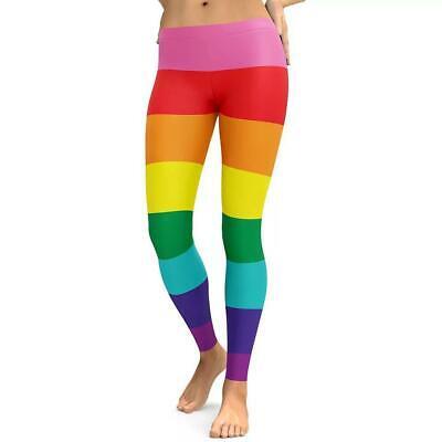 y Leggings.  New. Festival. LGBT. Gay Pride (Rainbow Leggings)