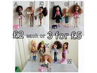 Bratz Dolls - £2 each or 3 for £5