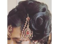 Bridal Hair Stylist & Party Hair Stylist covering Birmingham | Asian Bridal Hair Styling |Party Hair