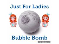 Bubble bombs made to order