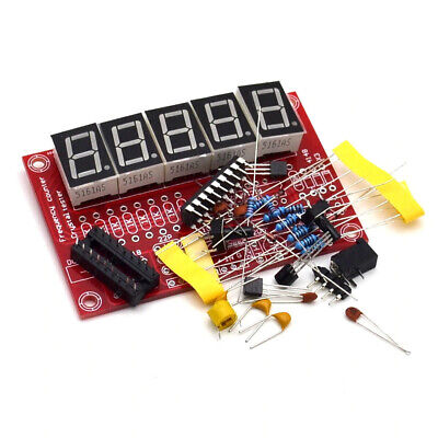 Diy Kits Rf 1hz-50mhz Crystal Oscillator Frequency Counter Meter Digital Led