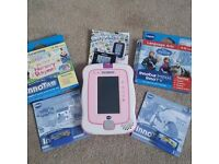 Vtech Innotab 3 console with games