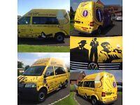2008 (58) Volkswagen Transporter T5 2.5TDI PD 130PS Ice Cream Van