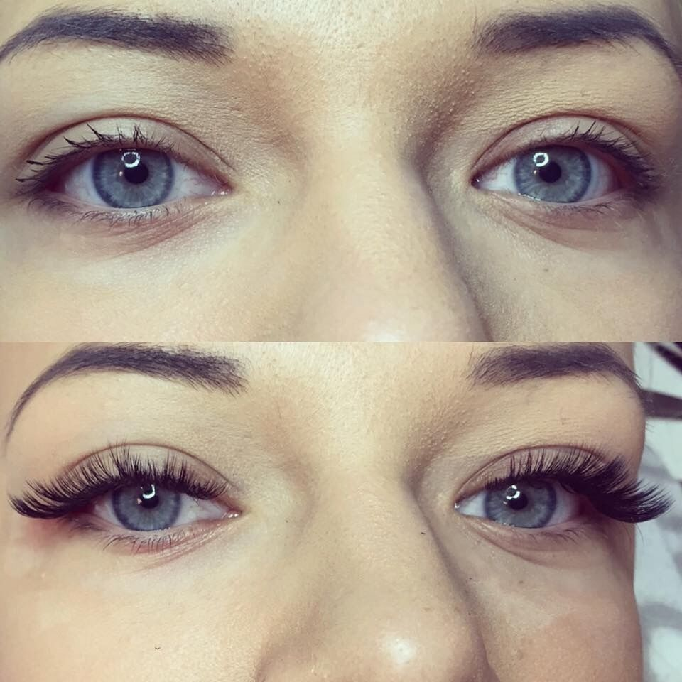 Summer's here! Enjoy it with natural looking EYELASH EXTENSIONS ...