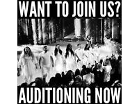 CHOIR AUDITIONS - ARE YOU A TALENTED SINGER?