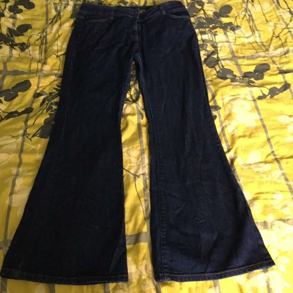 Jeans size 16 six pairs