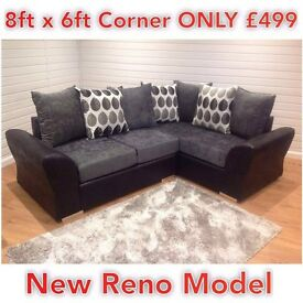 NEW Beautiful RENO CORNER 8ftx6ft ONLY £499