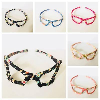 2018 DESIGN girls SUNGLASSES STYLE Alice bands headband FLORAL fabric hair band - Sunglasses Headband