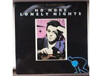 No More Lonely Nights by Paul McCartney 7 inch 45RPM single 1984