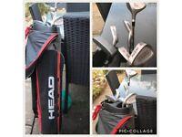 Half set of Left handed golf clubs