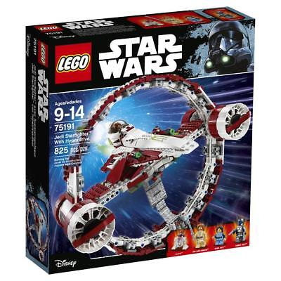 Lego - LEGO Star Wars Jedi Starfighter with Hyperdrive (75191)