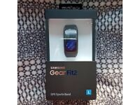Samsung Gear Fit 2 Smart Watch. Brand new, sealed, received straight from Samsung.