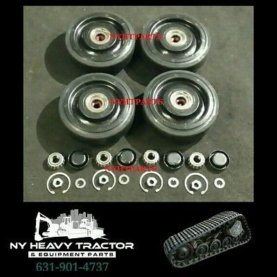 2238398 223-8398 Rear Bogie Wheel Kit 10 X4 Caterpillar 247 257 247b 257b Cat