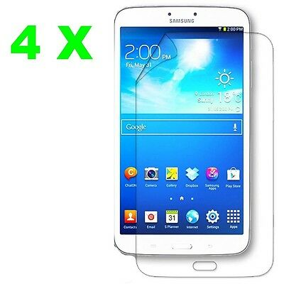 4X Ultra Clear Screen Protector Film Cover Guard For Samsung Galaxy Tab 3 8 (Samsung Galaxy Tab 3 8 Inch Screen)
