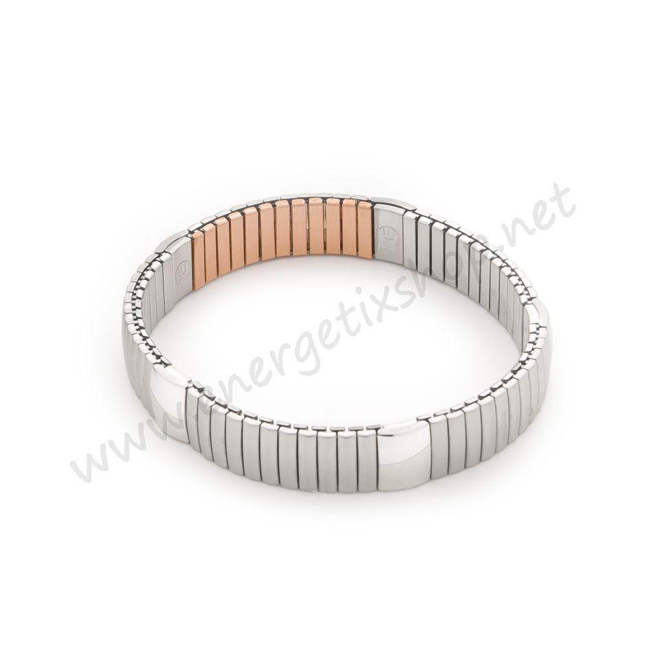 ENERGETIX Bracciale unisex flexi-magnetarmband acciaio inox / rame S-XXL 1045