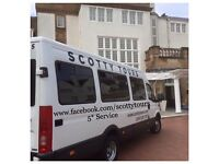 Minibus Hire With Driver 8 & 16 Passenger Seats - Spacious Minicoaches
