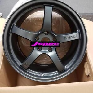Gramlights 57CR 18x9.5 +38 5x114.3 Gun Blue 2  in stock wrx STI CIVIC