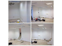 Plastering, painting and decorating, tiling and many more- Competitive prices !