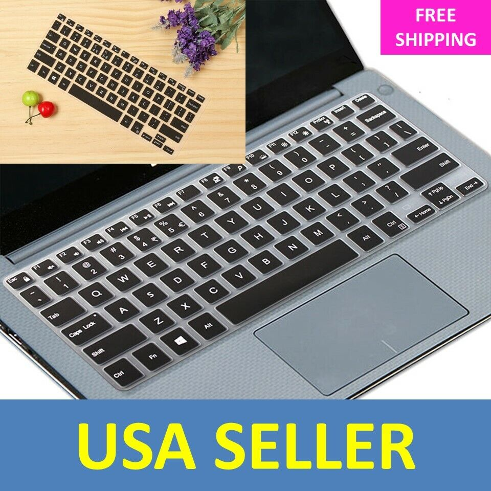 Waterproof Silicone Keyboard Cover Protector Skin for Dell X