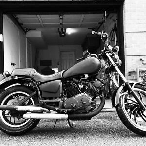 1982 Virago blacked out