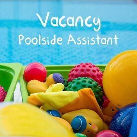 Swimming Pool Assistant for parent and baby classes- Weekend sessions