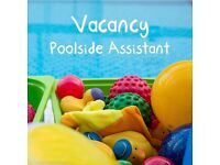 Poolside Assistant for Puddle Ducks baby swimming lessons- Weekends