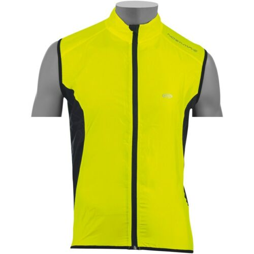 NEW NORTHWAVE NORTH WIND LIGHTWEIGHT WINDPROOF CYCLING GILET - YELLOW/BLACK
