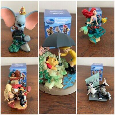 Lot des 5 figurines Disney Cinemagic neuve collection complète sous emballage