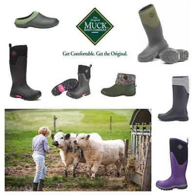 Muck Boots Arctic (Damen Muck Boot Hale, Arctic Adventure, Ankle Leather, Rubber, Clogs, Stiefel)