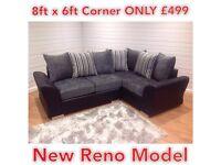 DQF NEW RENO 8ftx6ft Corner ONLY £499