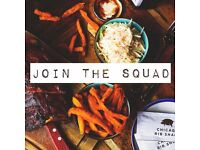 *** JOIN OUR SQUAD - WAIT STAFF WANTED - CHICAGO RIB SHACK - CLAPHAM ***