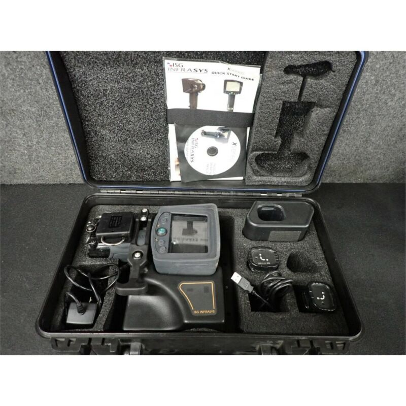 Scott Safety ISG Infrasys X380 Thermal Imager, Five Button, with Case