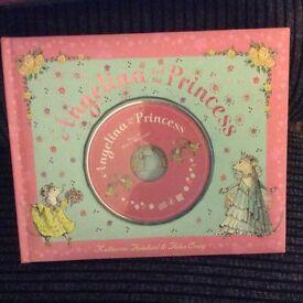 Angelina and the Princess CD and BOOK Set
