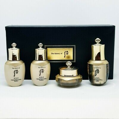 The History of Whoo Cheonyuldan Ultimate Regenerating 4 Items Gift Set K-Beauty