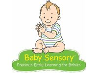 Baby Sensory classes - Leith, Colinton & Craigentinny