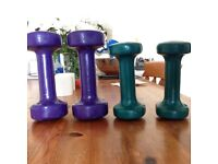 dumbbell weights home gym exercise 4 set only £12