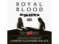2 x Royal Blood Tickets | Standing | Alexandra Palace | Tuesday 21st November