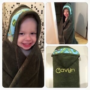 Personalized Hooded Toddler Towel