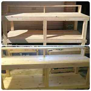 Workbench  Potting  Bench Storage Shelf Painting  Bench Paradise Point Gold Coast North Preview